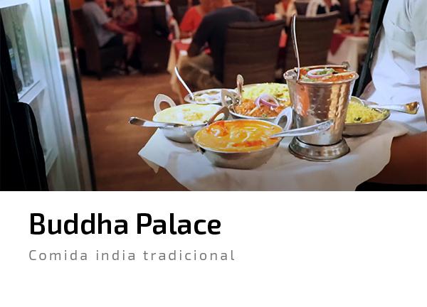 Buddha Palace indio curry arroz