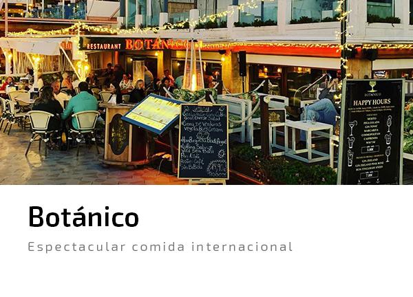 Botanico Javea comida internacional