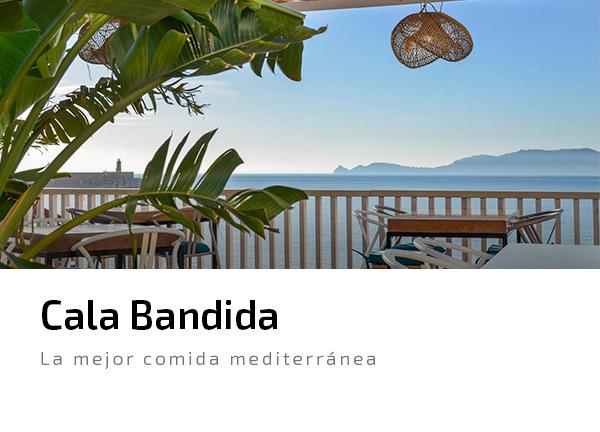 Cala Bandida comida mediterranea paella