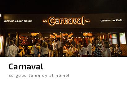 Carnaval Javea mexicano comida asiatica sushi
